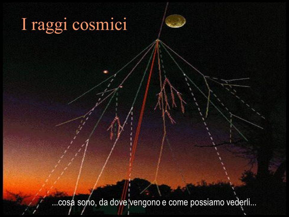 I raggi cosmici ...cosa sono, da dove vengono e come possiamo vederli...