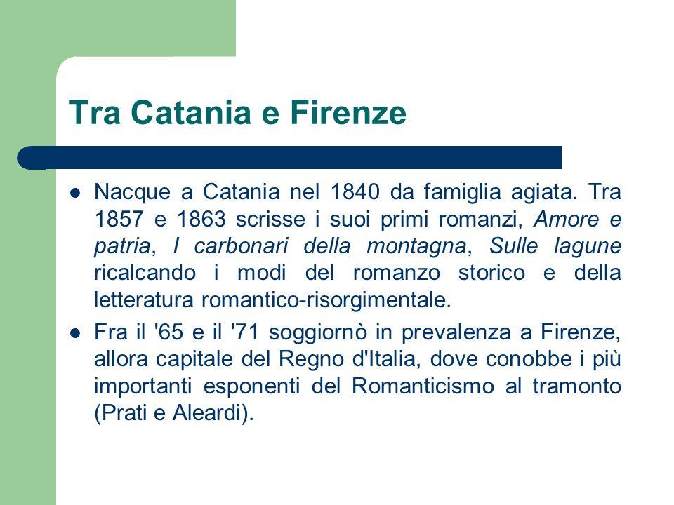 Tra Catania e Firenze