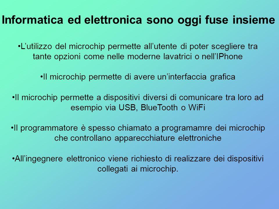 Informatica ed elettronica sono oggi fuse insieme