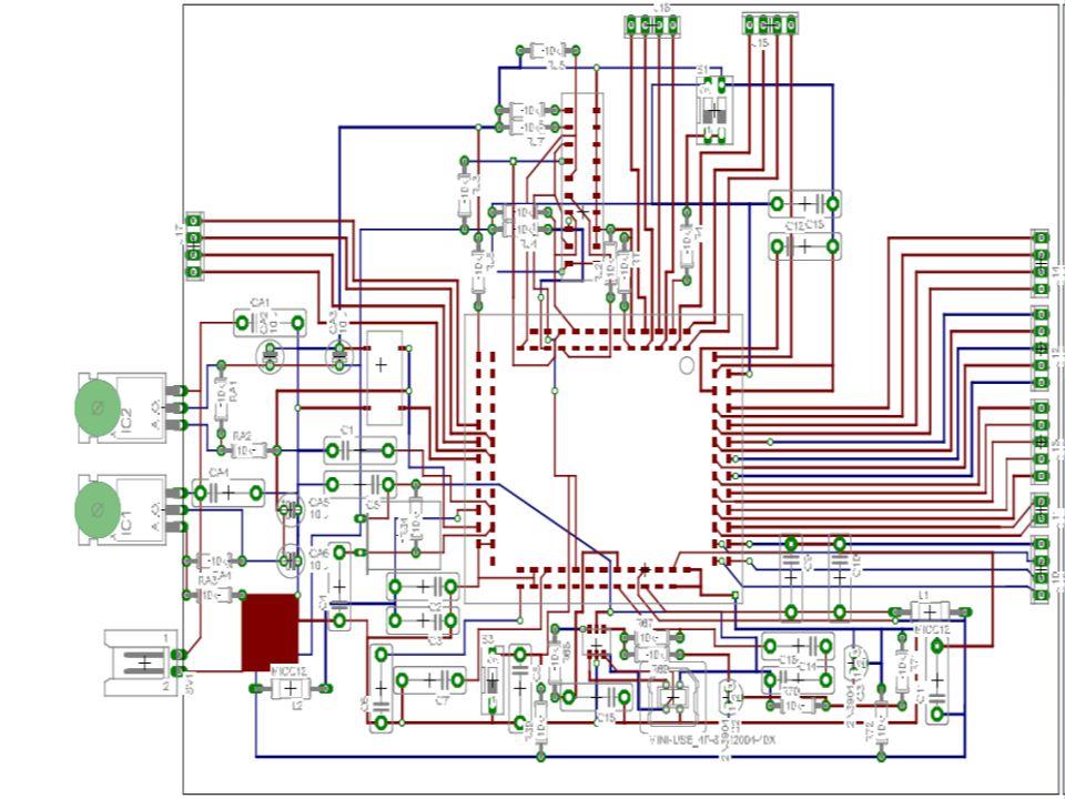 Per disegnare i processori e le schede elettroniche si usano sofisticati programmi di grafica
