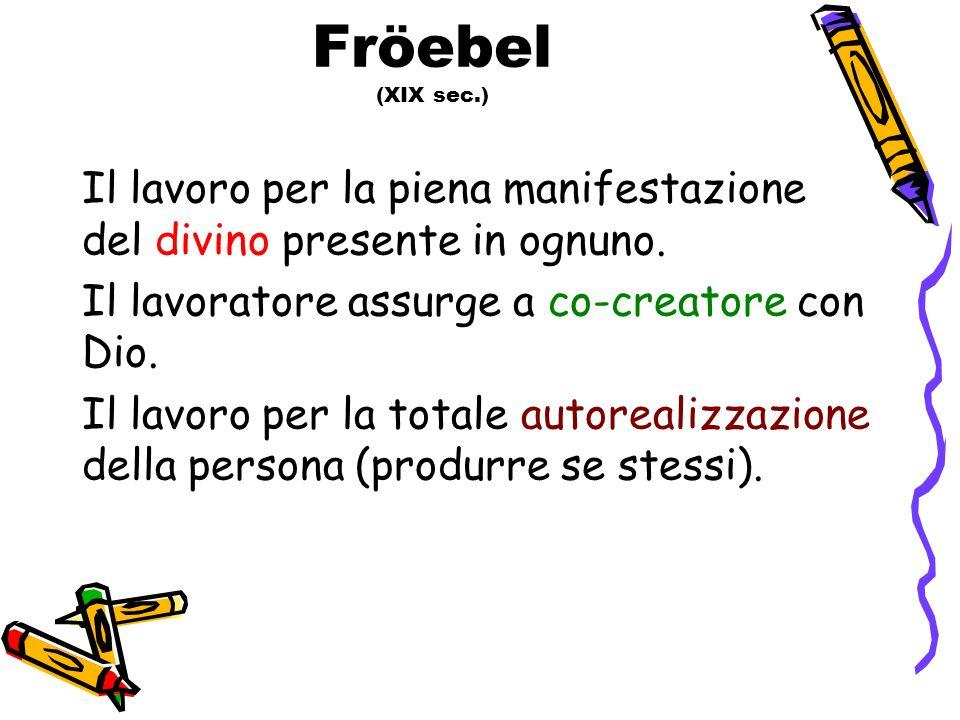 Fröebel (XIX sec.)