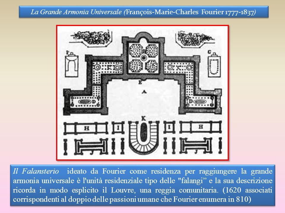 La Grande Armonia Universale (François-Marie-Charles Fourier 1777-1837)
