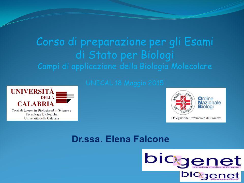 Corso di preparazione per gli Esami di Stato per Biologi