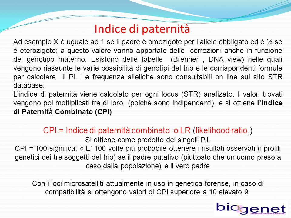 Indice di paternità