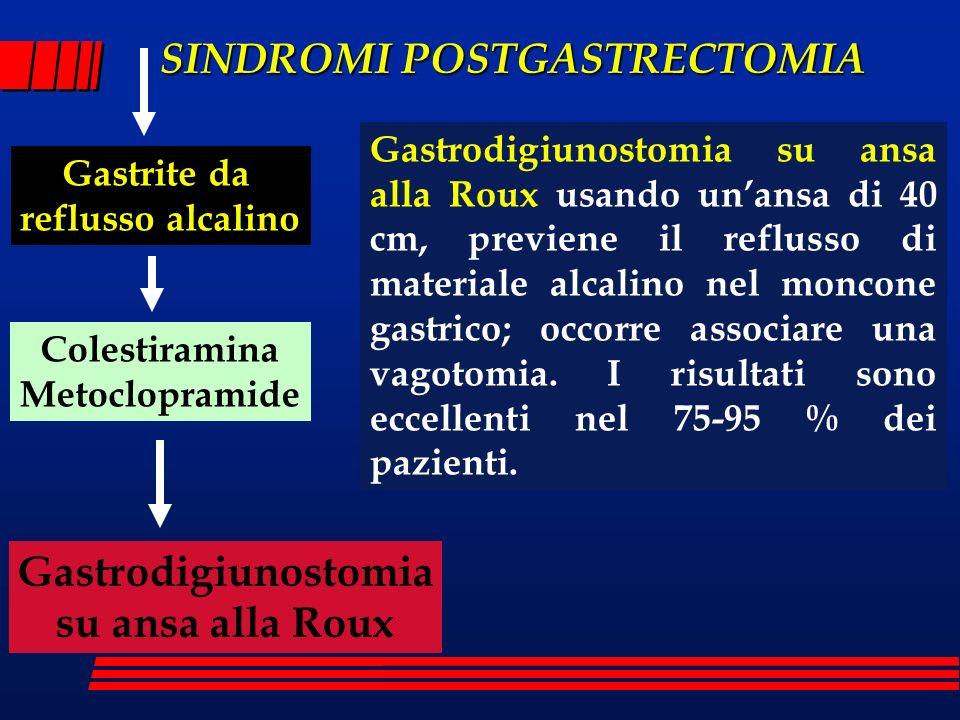 Gastrodigiunostomia su ansa alla Roux