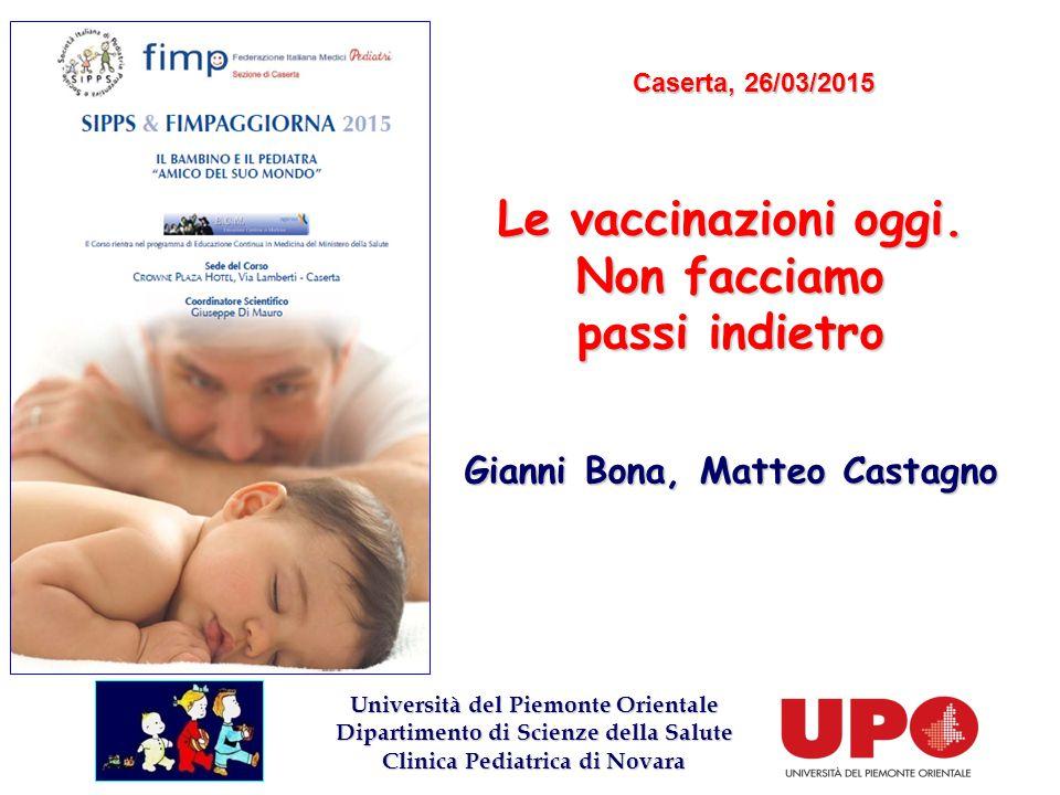 Le vaccinazioni oggi. Non facciamo passi indietro