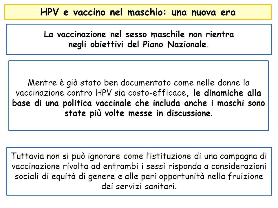 HPV e vaccino nel maschio: una nuova era