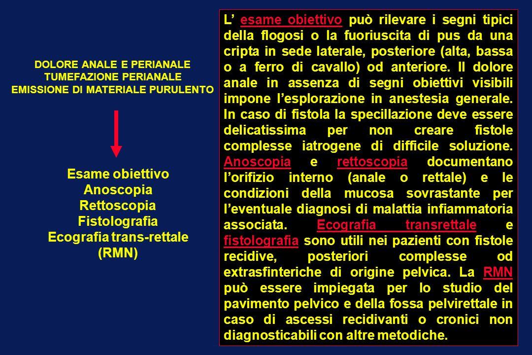 Ecografia trans-rettale (RMN)