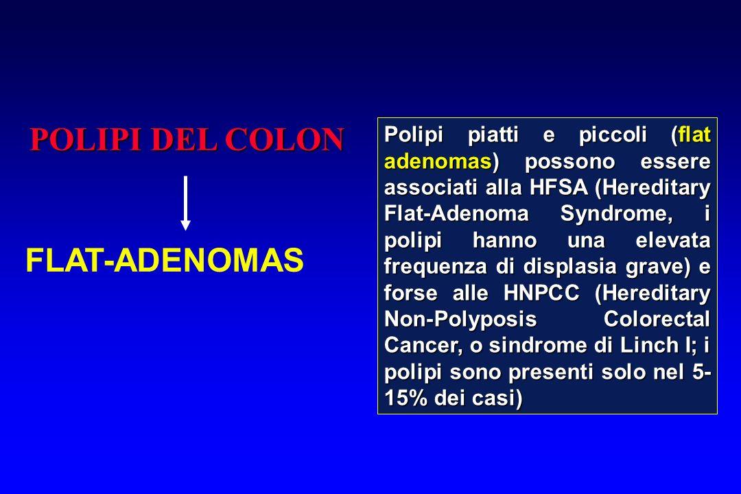 POLIPI DEL COLON FLAT-ADENOMAS