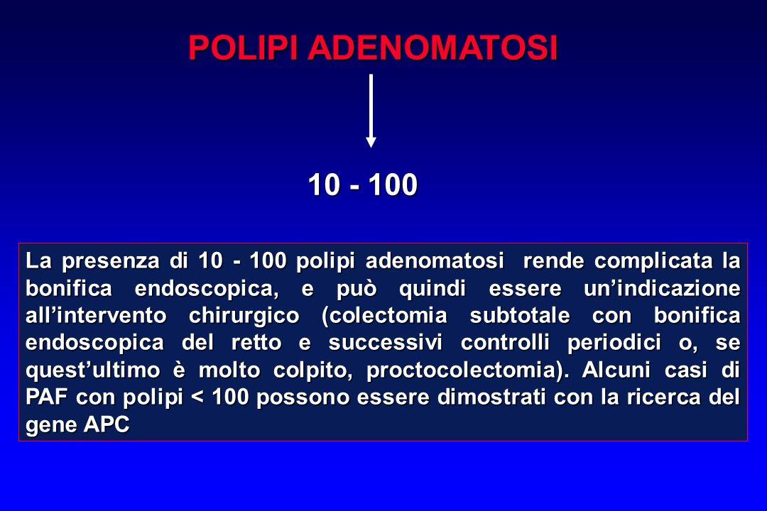 POLIPI ADENOMATOSI10 - 100.