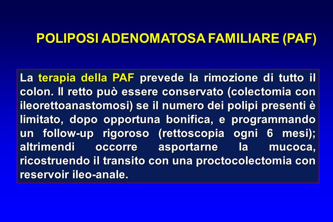 POLIPOSI ADENOMATOSA FAMILIARE (PAF)