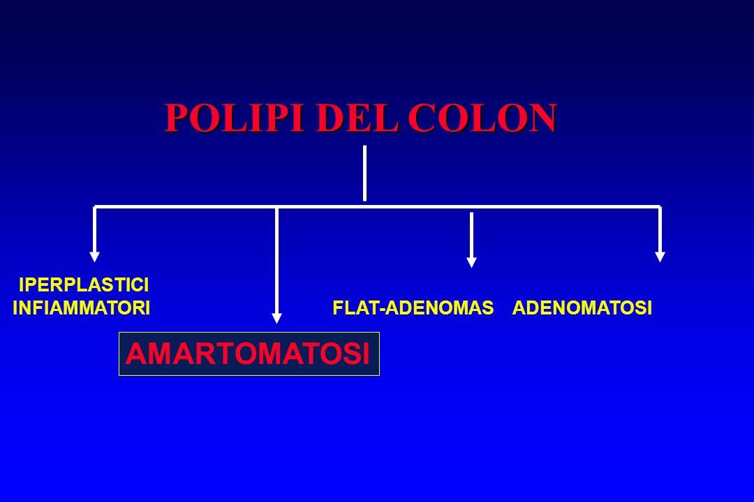 POLIPI DEL COLON AMARTOMATOSI IPERPLASTICI
