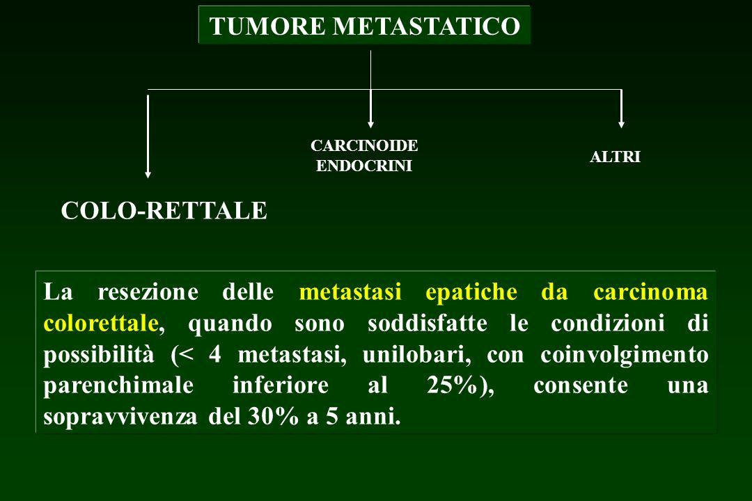 TUMORE METASTATICO COLO-RETTALE