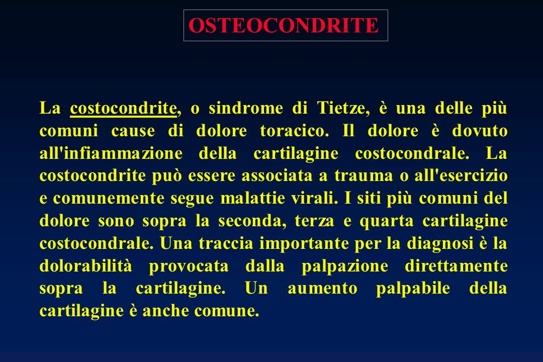 OSTEOCONDRITE