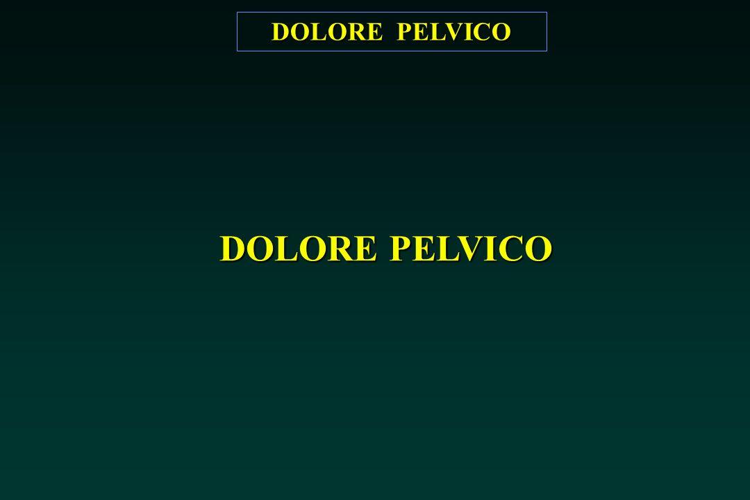 DOLORE PELVICO
