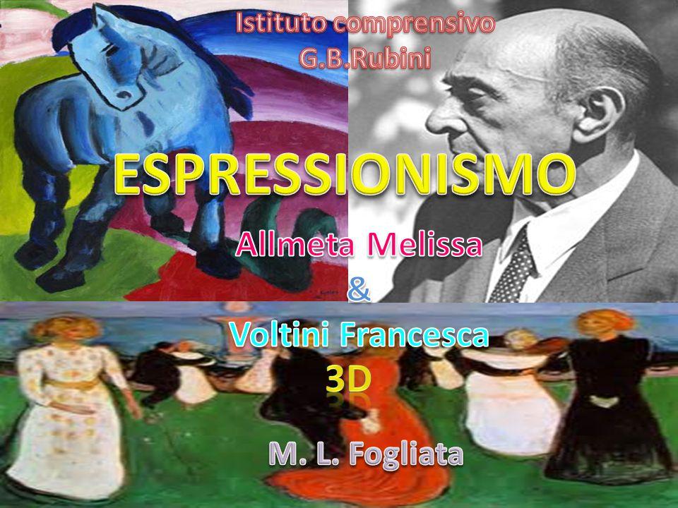 ESPRESSIONISMO 3D Allmeta Melissa & Voltini Francesca M. L. Fogliata