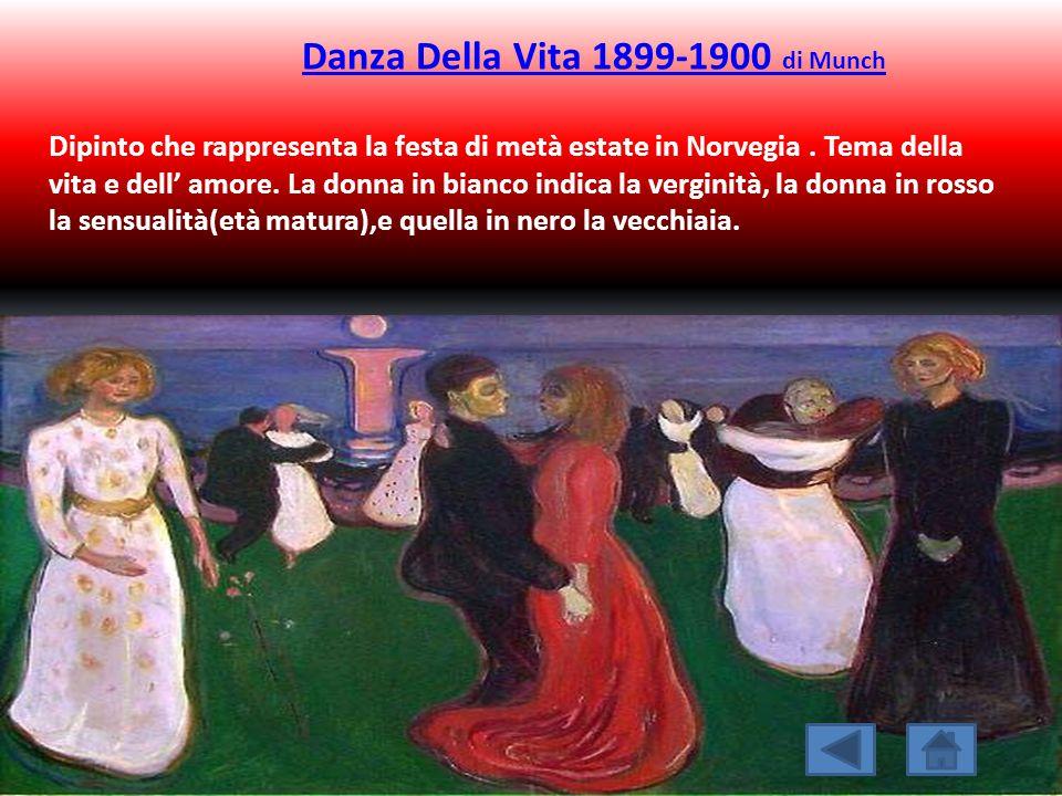 Danza Della Vita 1899-1900 di Munch