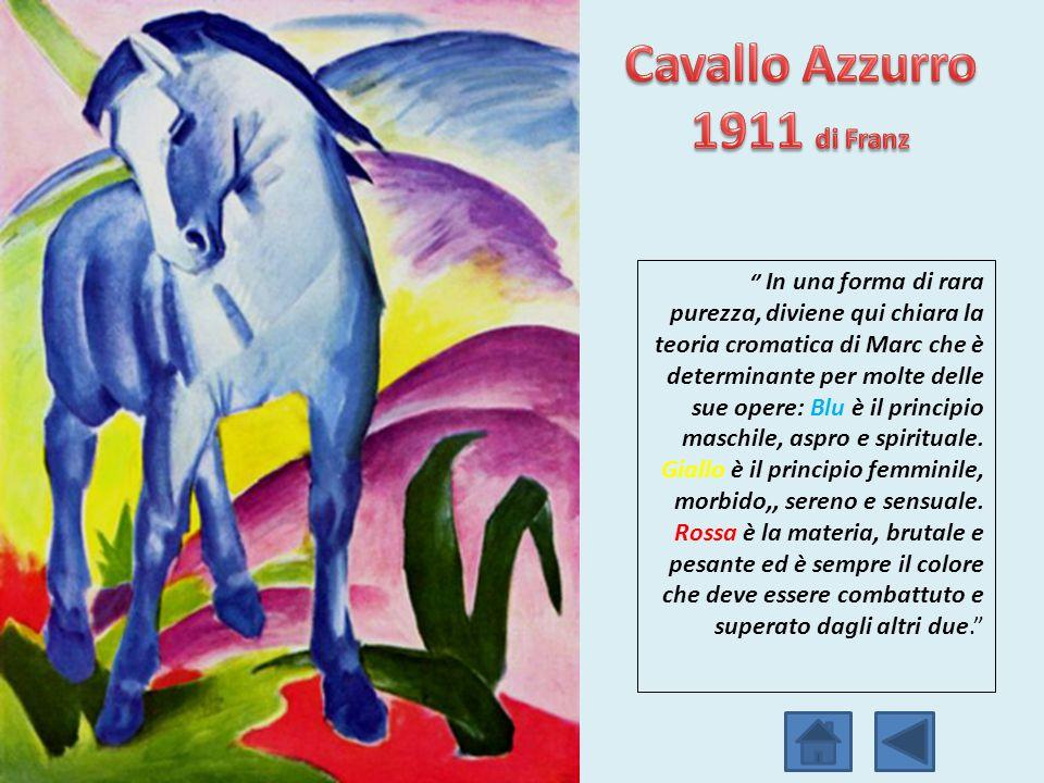 Cavallo Azzurro 1911 di Franz