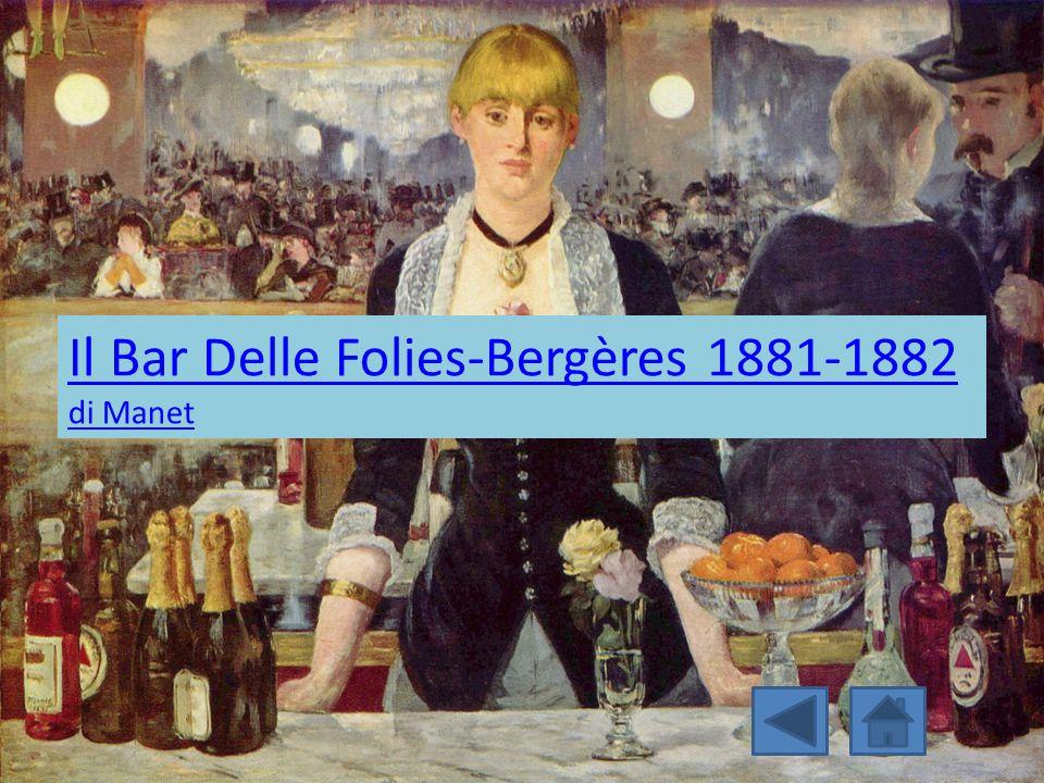 Il Bar Delle Folies-Bergères 1881-1882 di Manet