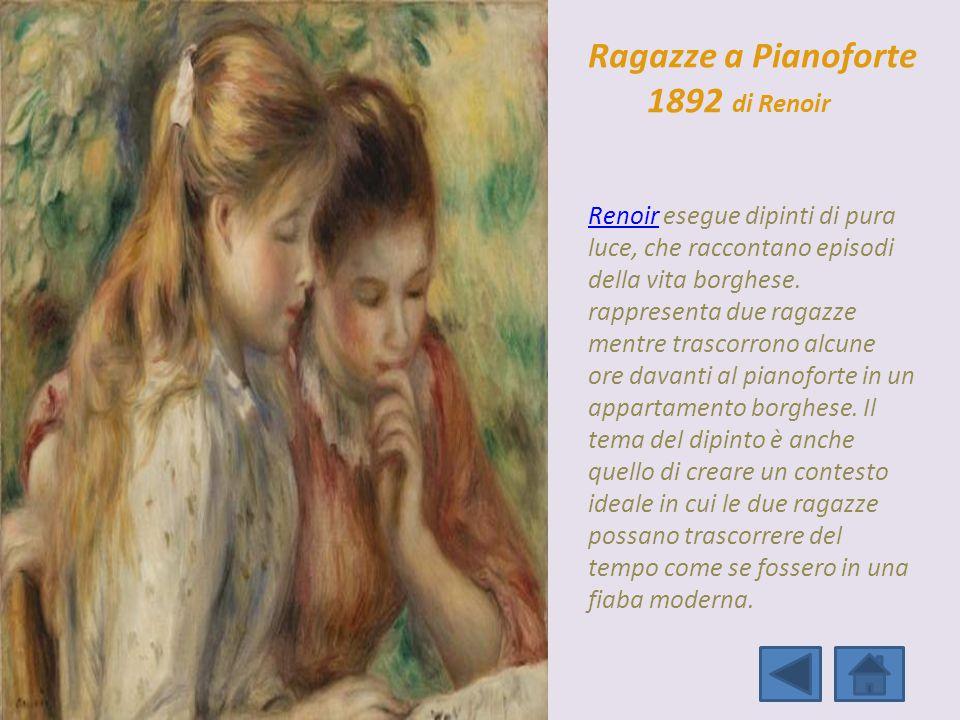 Ragazze a Pianoforte 1892 di Renoir