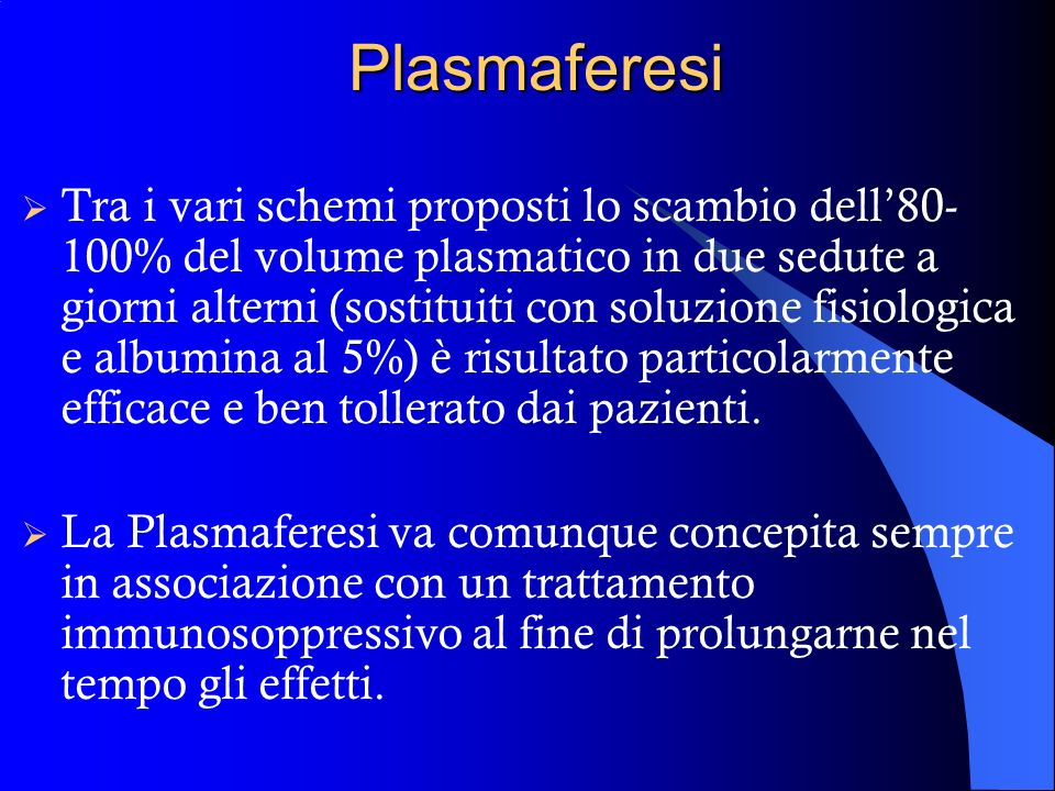 Plasmaferesi