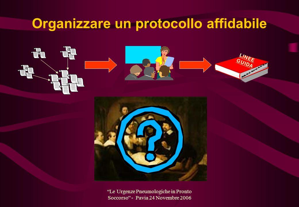Organizzare un protocollo affidabile