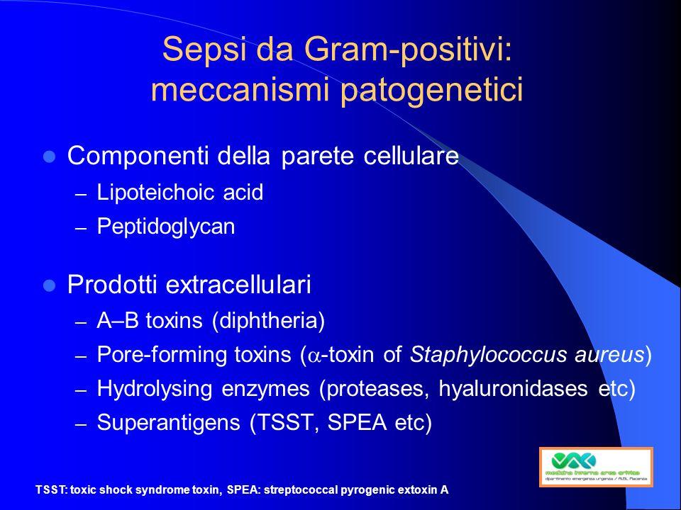 Sepsi da Gram-positivi: meccanismi patogenetici