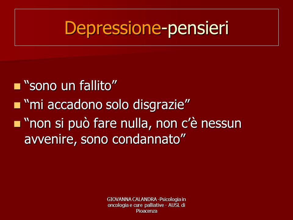 Depressione-pensieri