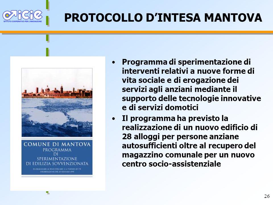 PROTOCOLLO D'INTESA MANTOVA