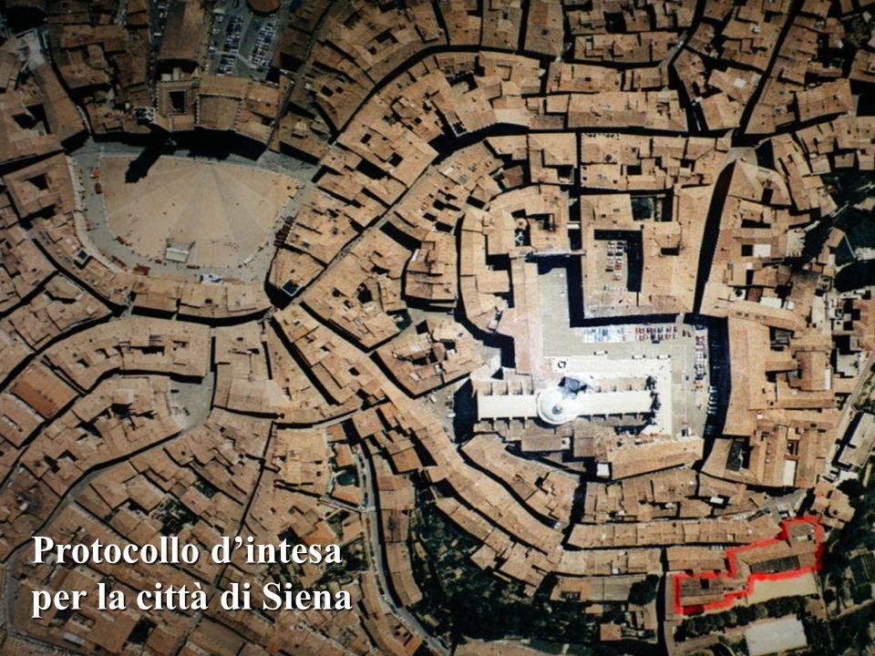 Protocollo d'intesa per la città di Siena