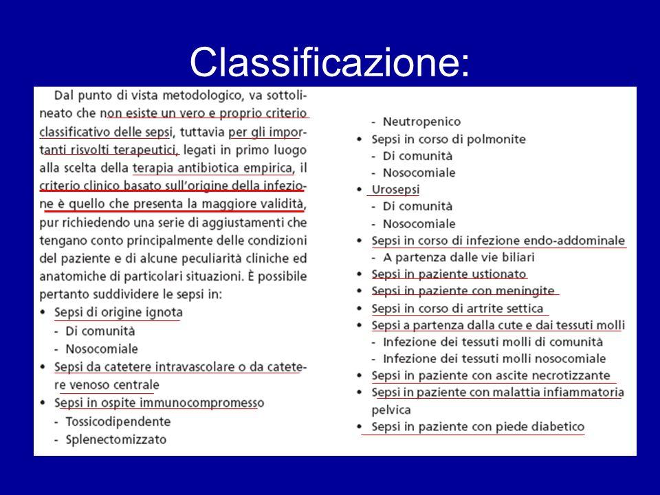 Classificazione: