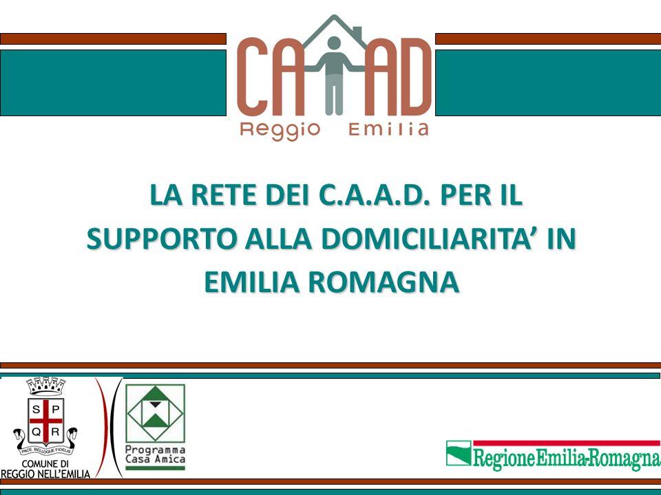SUPPORTO ALLA DOMICILIARITA' IN