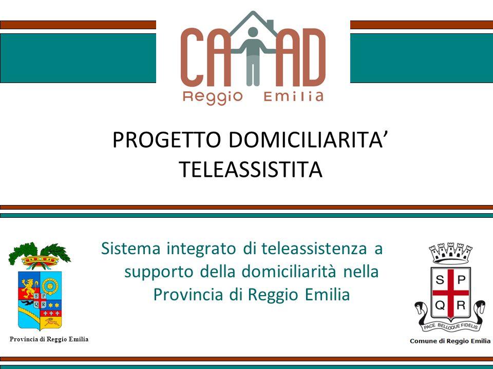 PROGETTO DOMICILIARITA' TELEASSISTITA