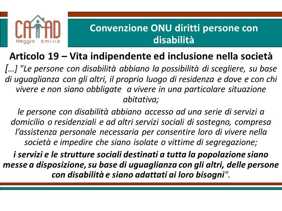 Convenzione ONU diritti persone con disabilità