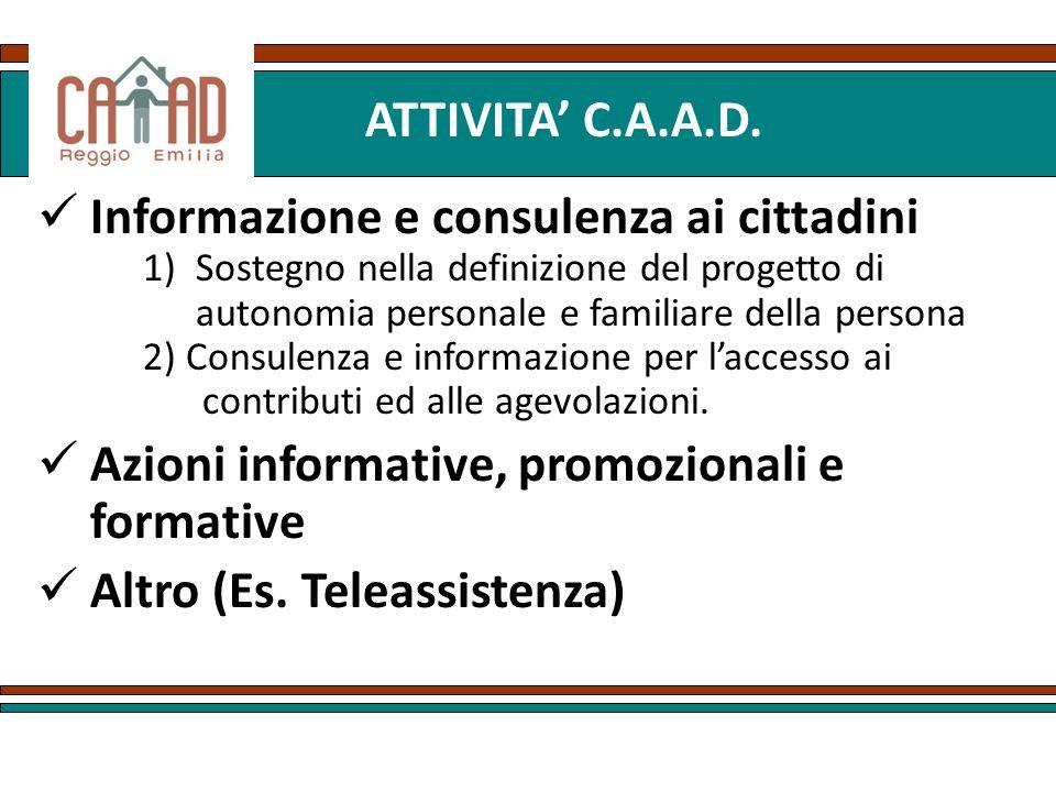 Informazione e consulenza ai cittadini