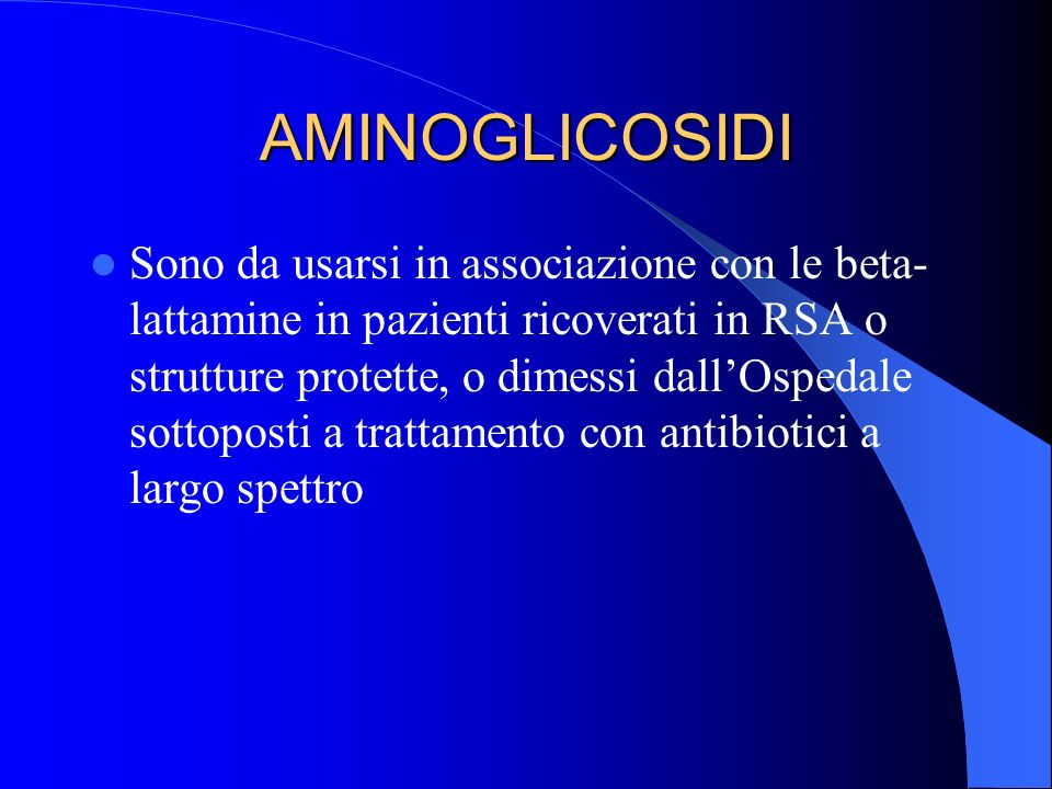 AMINOGLICOSIDI