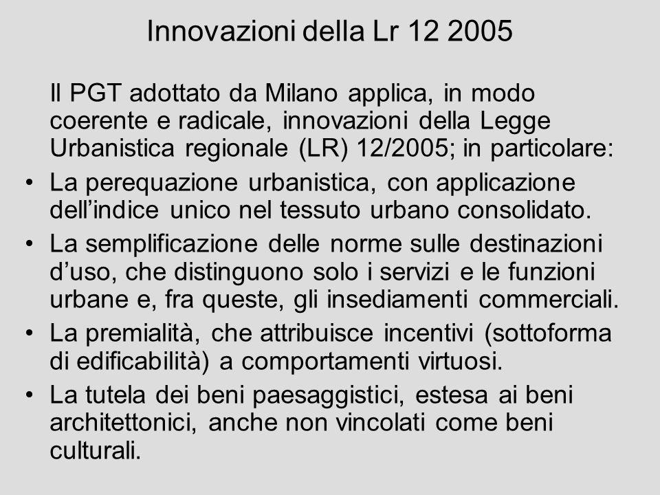 Innovazioni della Lr 12 2005