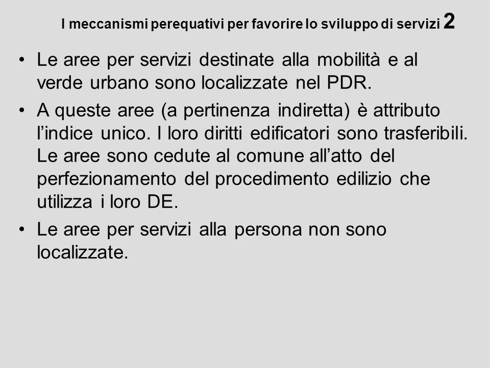 I meccanismi perequativi per favorire lo sviluppo di servizi 2