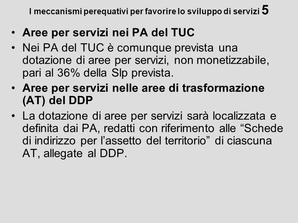 I meccanismi perequativi per favorire lo sviluppo di servizi 5
