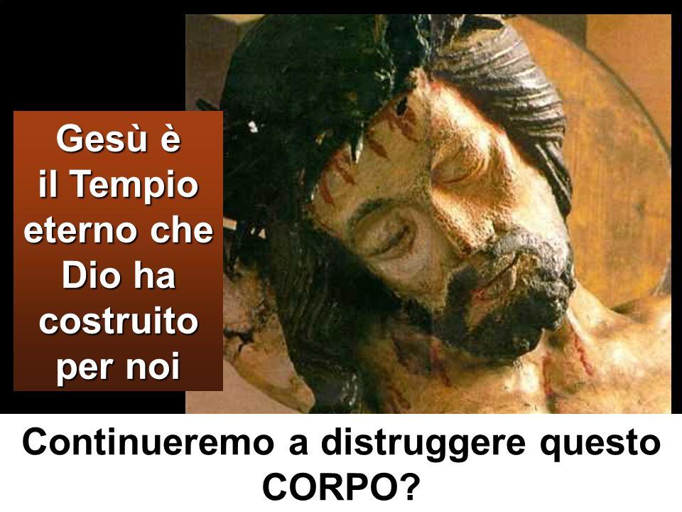 Gesù è il Tempio eterno che Dio ha costruito per noi