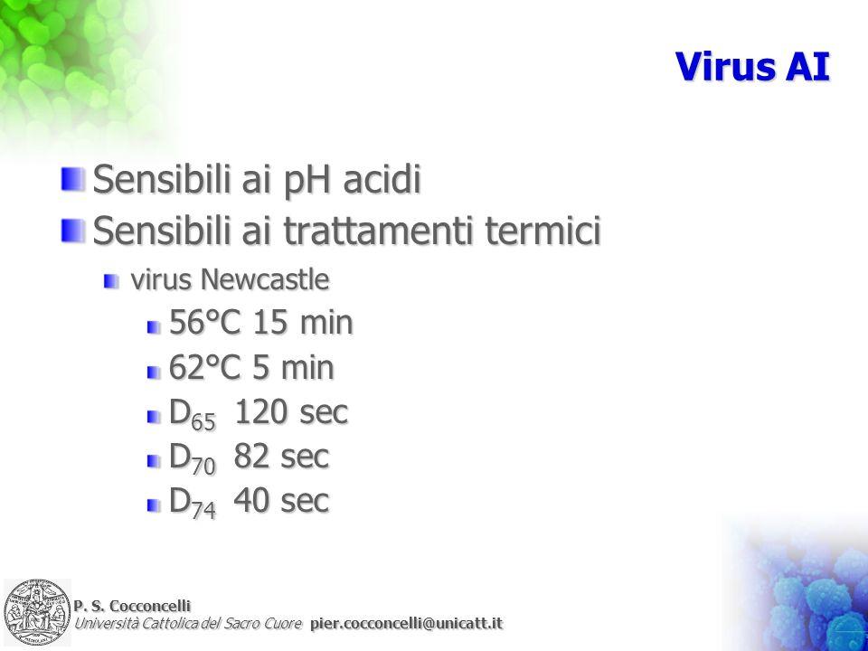 Sensibili ai trattamenti termici