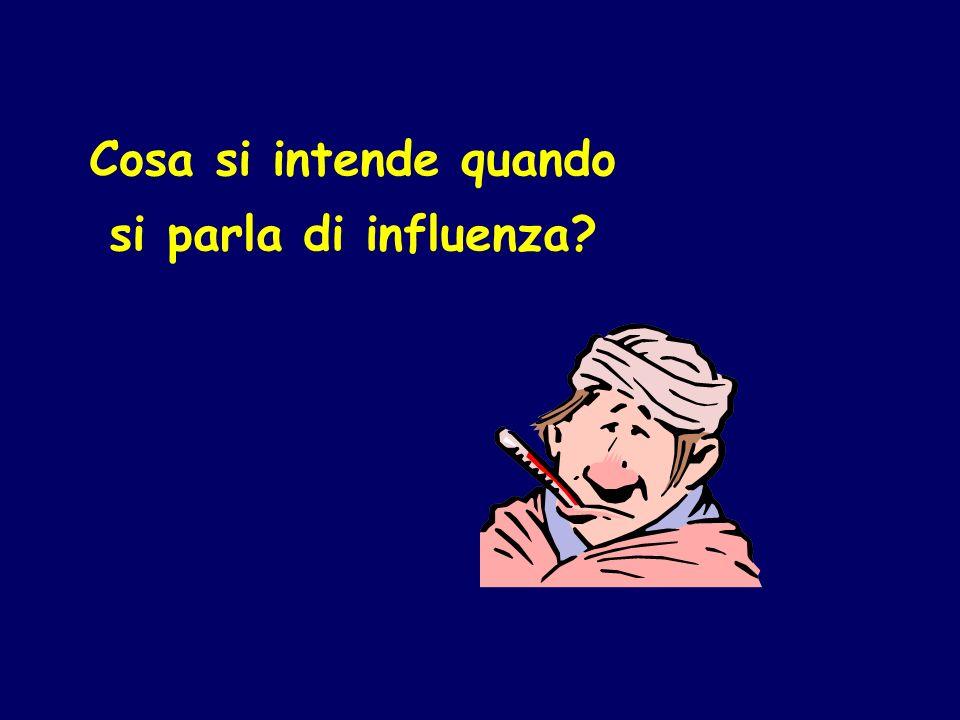 Cosa si intende quando si parla di influenza