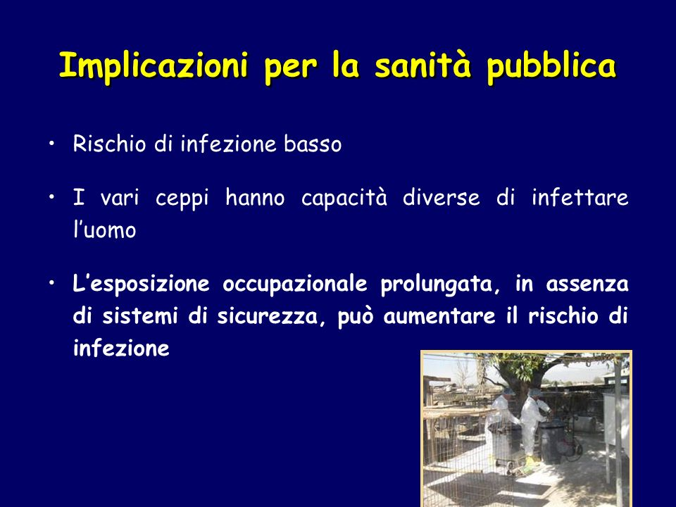 Implicazioni per la sanità pubblica