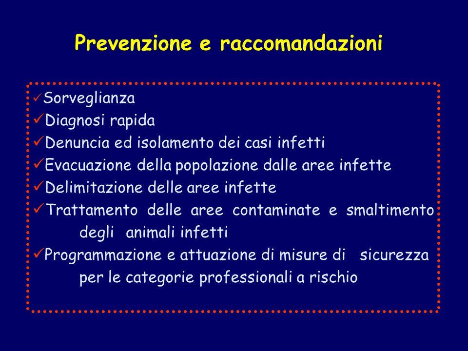 Prevenzione e raccomandazioni