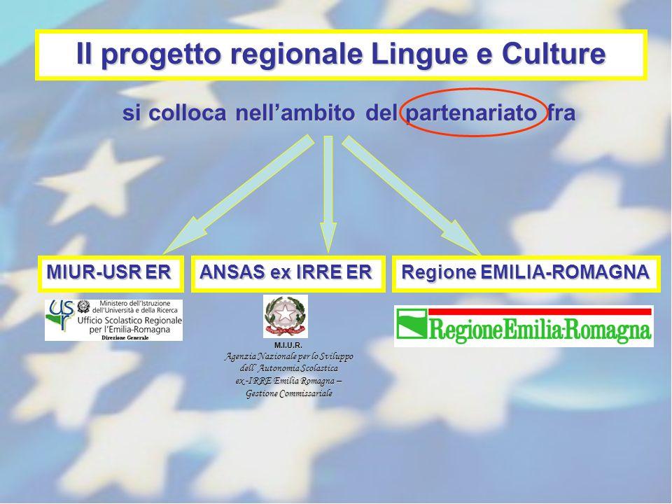 Il progetto regionale Lingue e Culture