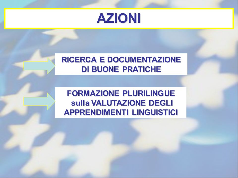 AZIONI RICERCA E DOCUMENTAZIONE DI BUONE PRATICHE