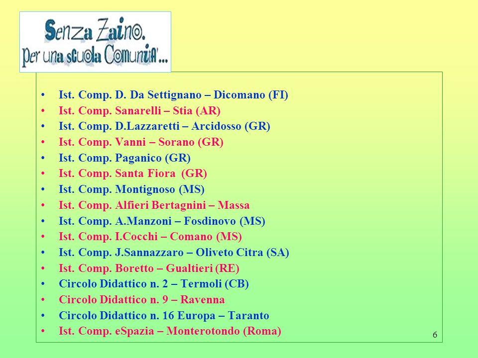 Ist. Comp. D. Da Settignano – Dicomano (FI)