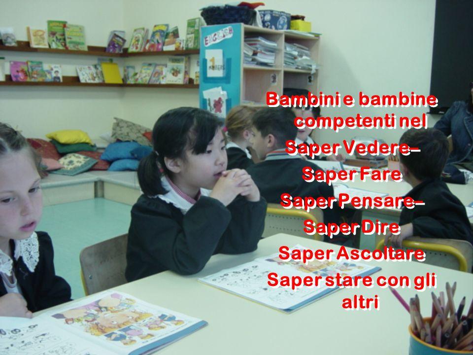 Bambini e bambine competenti nel Saper stare con gli altri