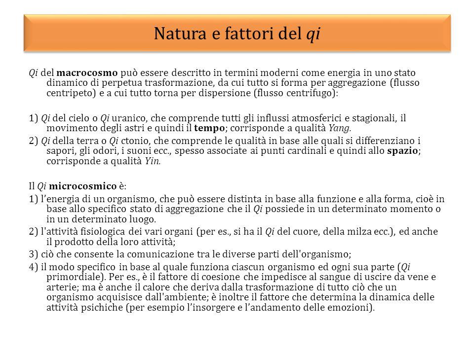Natura e fattori del qi