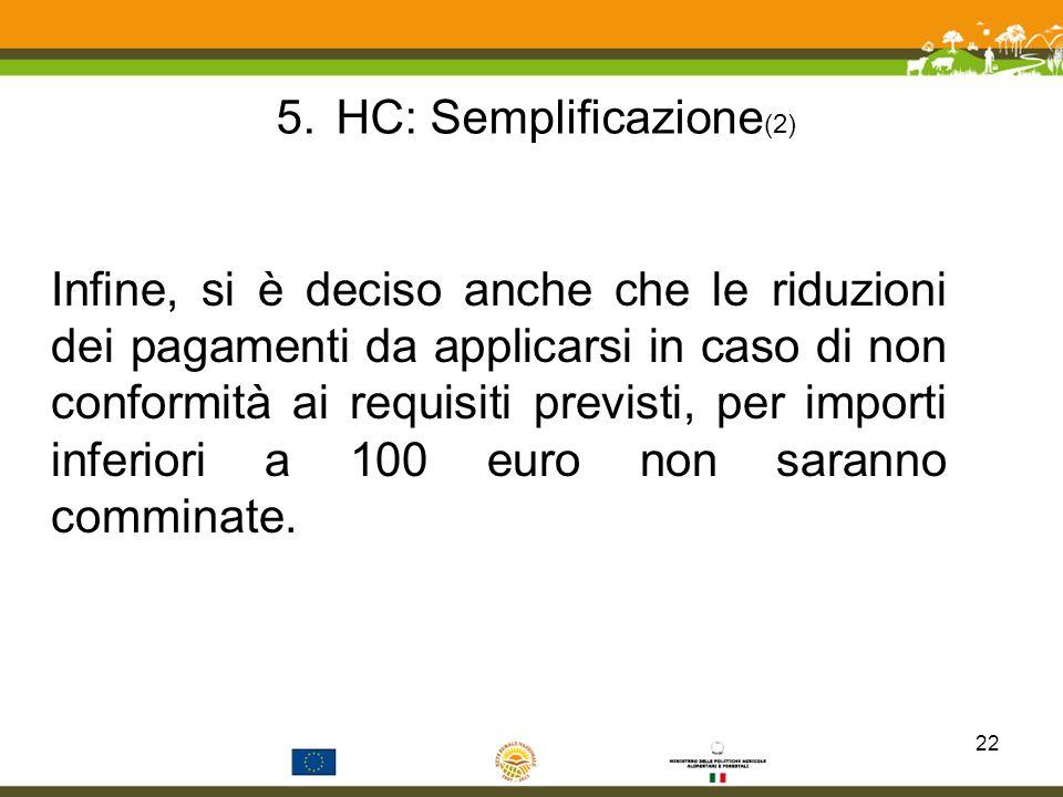 HC: Semplificazione(2)